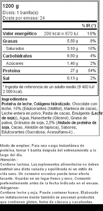 24 x 53% Platinum Bar 50 g Galletas y crema: Amazon.es: Salud y cuidado personal