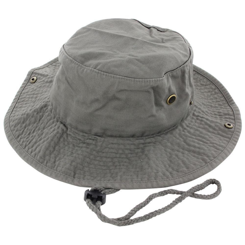 9Proud Olive Cotton Hat Boonie Bucket Cap Summer Men Women by 9Proud