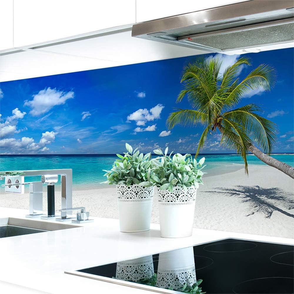 Küchenrückwand Palmen Strand Premium Hart Pvc 0 4 Mm Selbstklebend 220x60cm