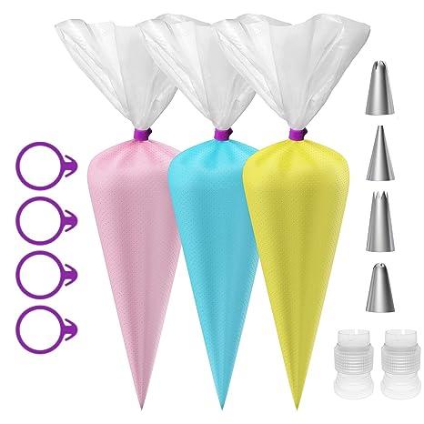Amazon.com: Ouddy - 100 bolsas desechables para repostería ...
