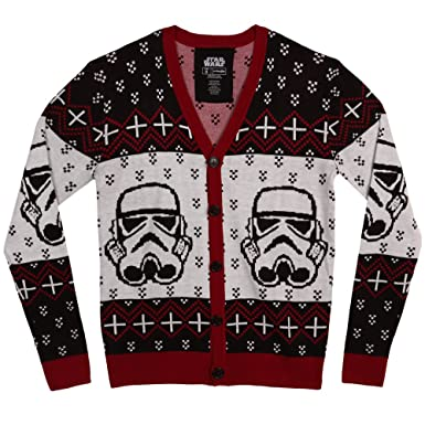 Amazon.com: Star Wars Stormtrooper Adult Cardigan: Clothing