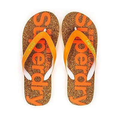 SUPERDRY Cork Flip Flop Tong Femme L  Amazon.fr  Chaussures et Sacs 90fd63eea47d