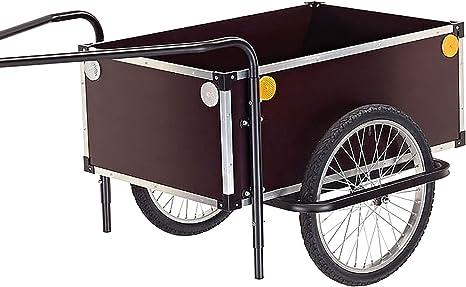 Roland Jumbo C - Remolque para bicicleta con doble pértigo de ...
