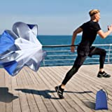 Running Speed Training, 56 Inch Speed Chute with Carry Bag, Resistance Running Parachute for Football Soccer Training Kids Yo