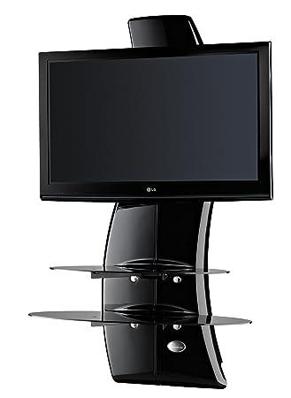 Meliconi Ghost Design 2000 (488064) (Schwarz) TV Wandhalterung 81 ...