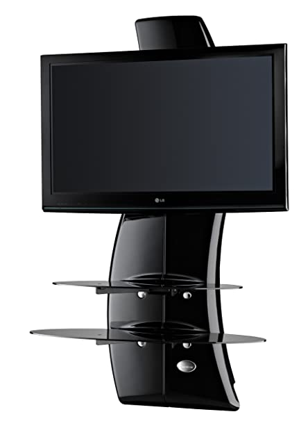 Porta Tv Meliconi Ghost.Meliconi Ghost Design 2000 Wall Bracket System For All 32 63 Inch Tv Ledlcd Plasma Glass Shelfes Max Vesa 400 Made In Italy Black