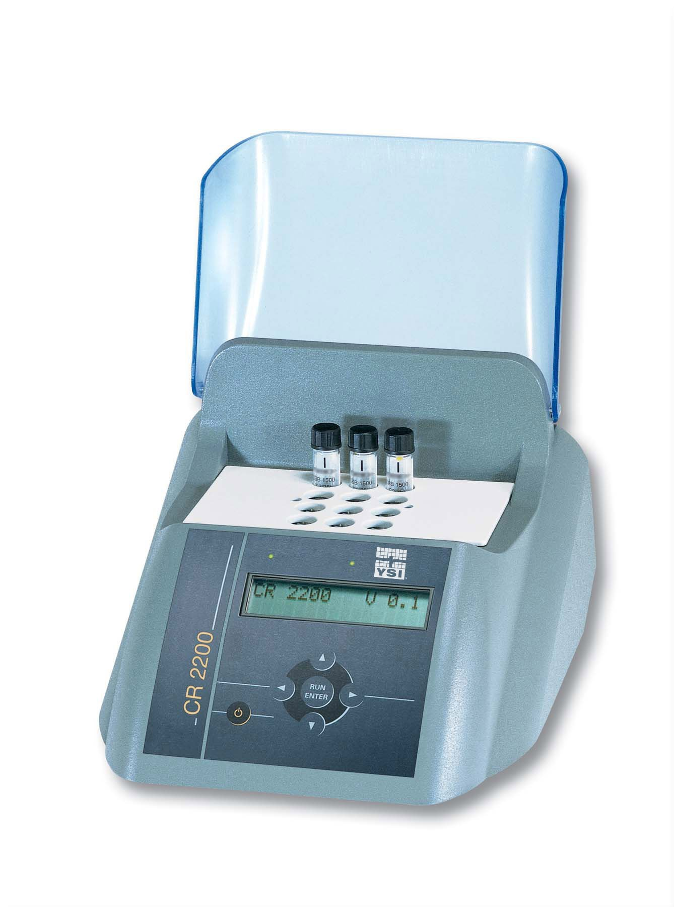 YSI 1P21-2Y Model CR 2200 Thermoreactor for COD & Thermal Digestions, Upto 12 Test Tubes, 3 Reactor Temperatures and 8 Fixed Programs, 115V