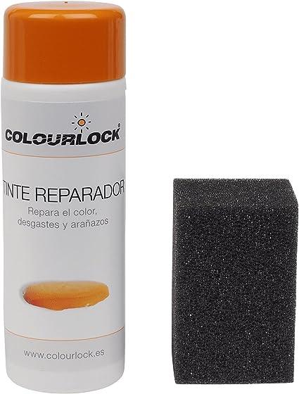 COLOURLOCK Tinte reparador Cuero/Piel F012 (Beige Claro ESTÁNDAR), 150 ml restaura el Color del Cuero en Coches, sofás, Ropa, Bolsos