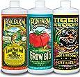 FoxFarm FX14050 Big Bloom, Grow Big & Tiger Bloom Liquid Fertilizer Nutrient Trio Hydro-Formula, 3/32-Ounce Bottles