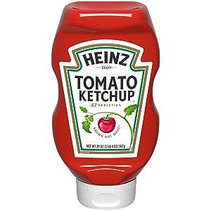Heinz tomato Ketchup (20oz Bottles, Pack of 6)