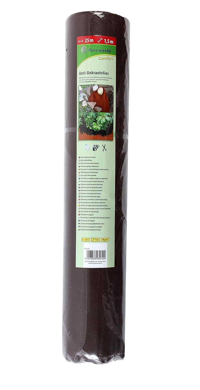 sconto online Floraworld 012018 Telo pacciamante di comfort, comfort, comfort, Marronee Scuro, 2500 x 150 x 77 cm  basso prezzo del 40%