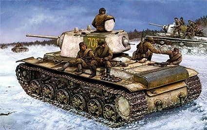 Amazon com: makeuseof Art world war 2 WW2 KV-1 russian tank war art