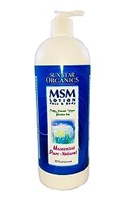 MSM Natural Pure & Natural Lotion-32 ozs.
