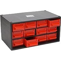 Tayg 348006 Módulo 12 cajones pequeños, negro y rojo