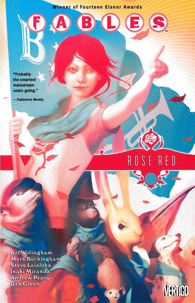 Fables Vol 15 Rose Red product image