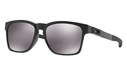 e5ea192905 Image Unavailable. Image not available for. Color  Oakley Catalyst  Sunglasses Polished Black with Prizm ...