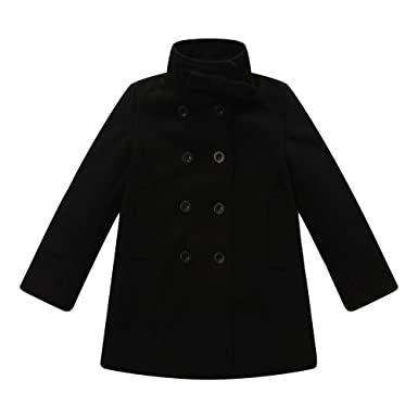 Amazon.com: Richie House Girls Foldover Coat: Dress Coats: Clothing