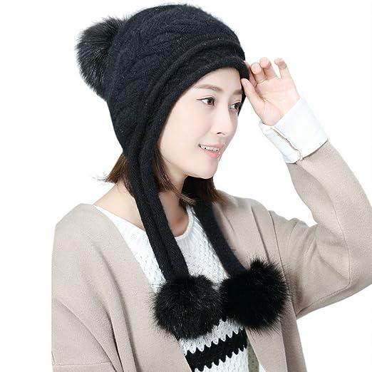 4a60d8f6 BingYELH 2018~2019 Women Cute Warm Hats, Fashion Women Hat Winter ...