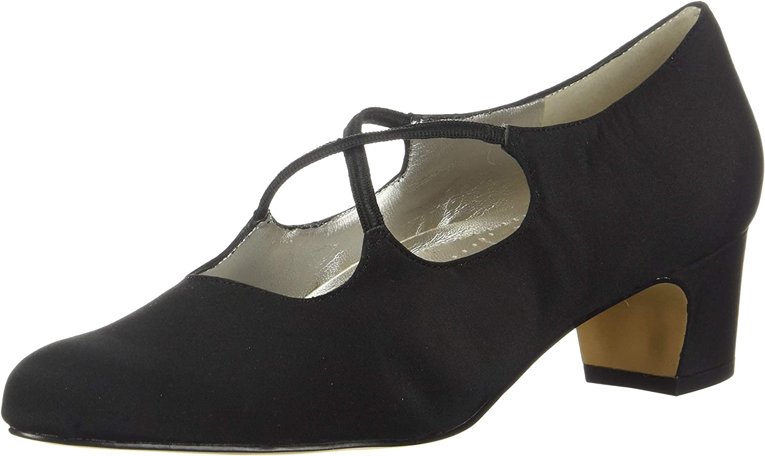 Trotters El SEAL limited product Paso Mall Women's Jamie Pump Black 10 Fabric Micro SS