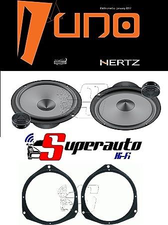 Hertz Linie Uno K165 K 165 Lautsprecher Set Für Elektronik