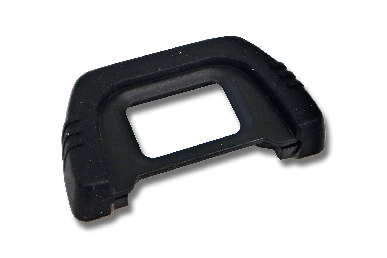 Oeilleton de viseur pour Nikon D5200 D5100 D3200 D3100 D3000 D100 D80 D70 D70s D60 D50 D40 D40x F80 F75 F65 F60 F55 F50. Remplace DK-20 vhbw