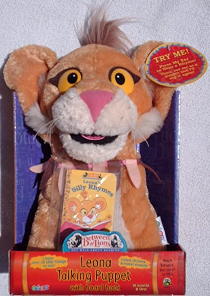 Amazoncom Pbs Between The Lions Leona Electronic Talking Plush