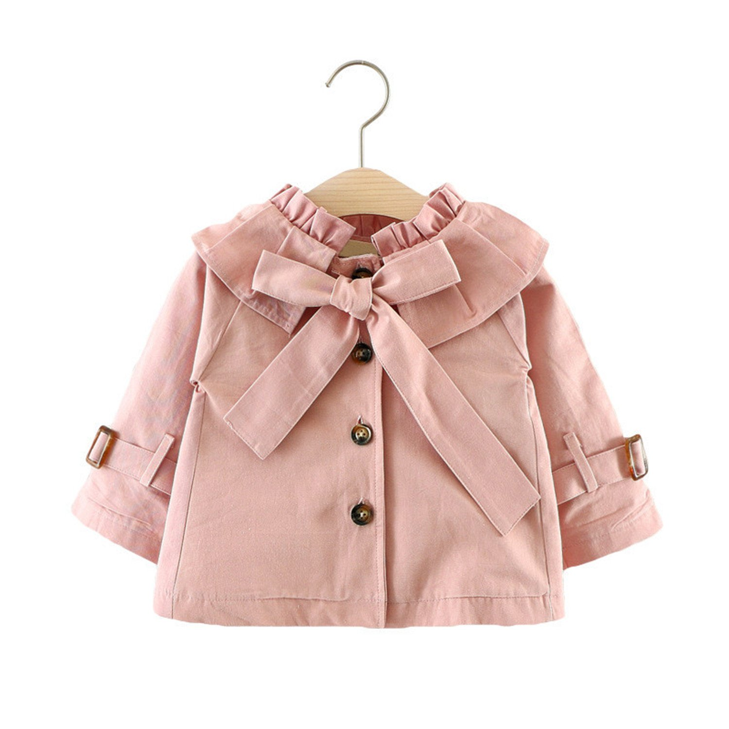 Matterin Christiao New Autumn Girls Jacket Coat Girls Outerwear Baby Girl Clothes Trench Coat