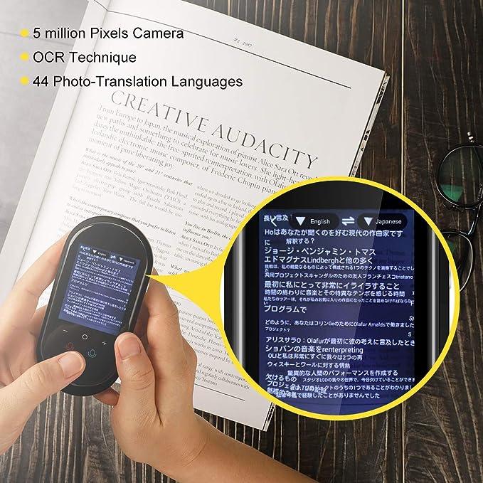 Amazon.com: [Actualizado] Dispositivo de Traductor de ...