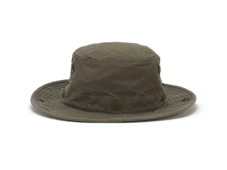 85ca9d7374ab4 Amazon.com  Tilley Endurables T3 Wanderer Cotton Duck Medium Brim Olive Hat