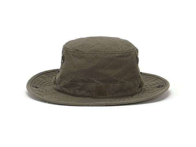 e19737db590 Image Unavailable. Image not available for. Color  Tilley Endurables T3  Wanderer Cotton Duck Medium Brim Olive Hat