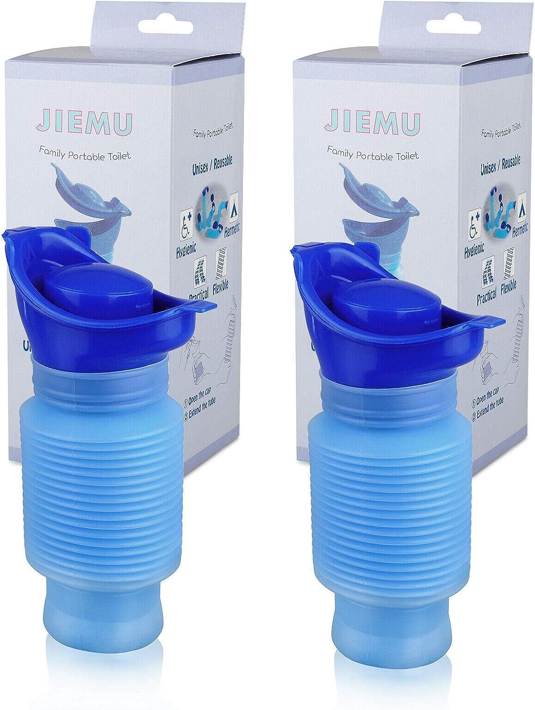 Emergency Urinal Shrinkable Unisex Portable Outdoor Pee Urine Bottle Reusable