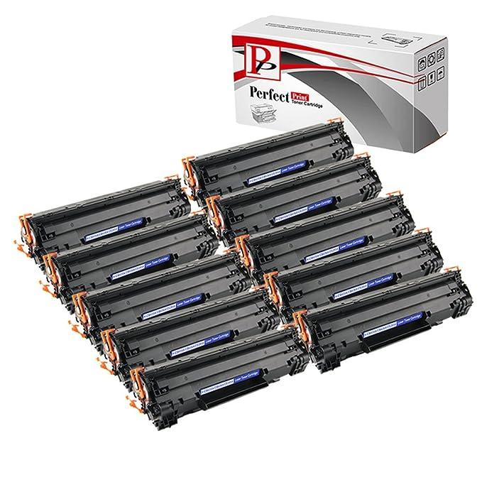 PerfectPrint - 10 Negro PerfectPrint compatibles cartuchos de ...