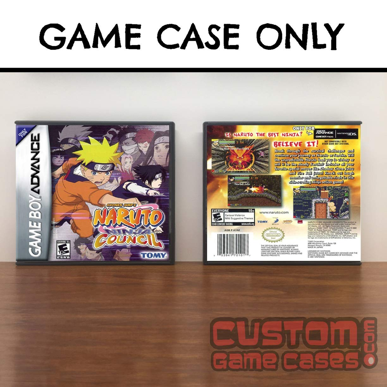 Amazon.com: Gameboy Advance Naruto: Ninja Council - Case ...