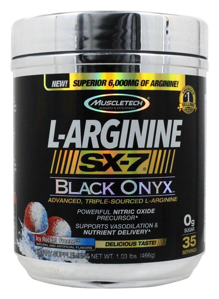 Muscletech L-Arginine SX-7 Black Onyx ICY Rocket Freeze 1 03 lbs 466 g