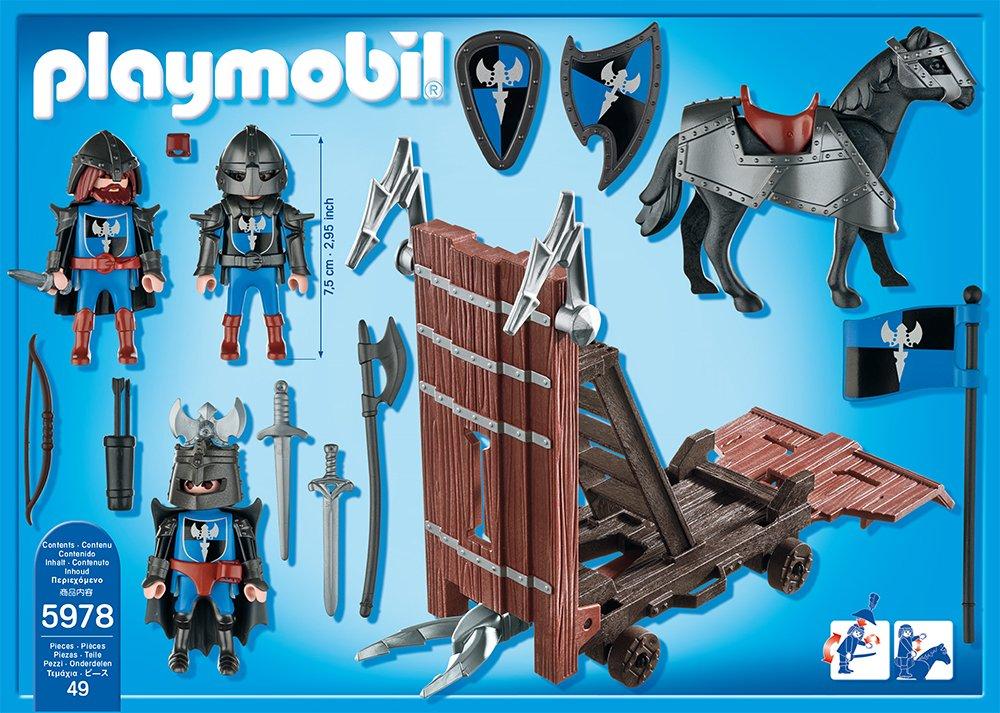 PLAYMOBIL 5978 Ritter mit Sturmramme