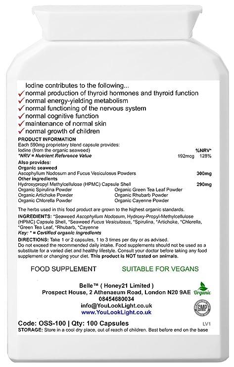 Belle® Alkaline Colon Body suplemento - alkalising, limpieza ...