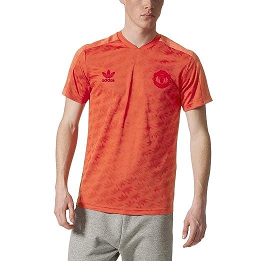 e8de74725 Amazon.com  adidas Originals Men s Manchester United FC Jersey  Clothing