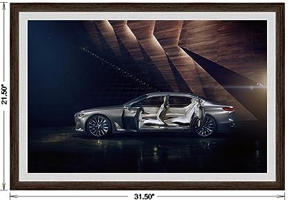 Amazon Bmw Vision Future Luxury Concept 2014 Framed Car Art