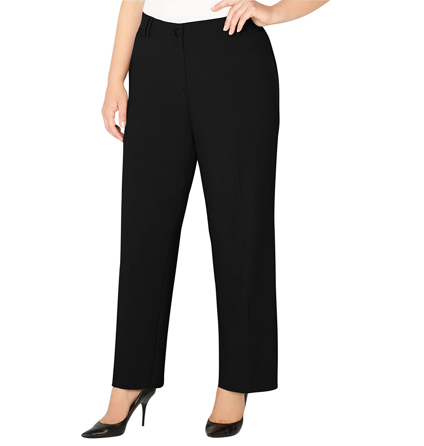 962e94a0f0 Add the perfect fit and added comfort to all of your work outfits with our  best-selling bi-stretch. This plus size No Gap pant is your go-to pant for  the ...