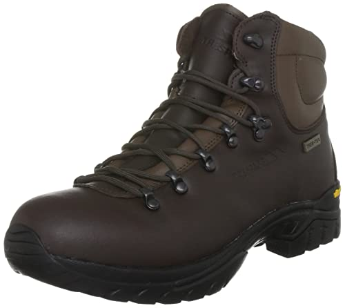 Trespass Walker Brown 40 Waterproof Hiking Boots for Men UK Size 6