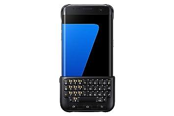 Samsung ej-cg935ubegfr Carcasa Teclado para Samsung Galaxy S7 Edge Negro: Amazon.es: Informática