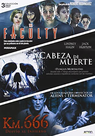 Pack: The Faculty + Cabeza De Muerte + Km. 666 (Import Movie)