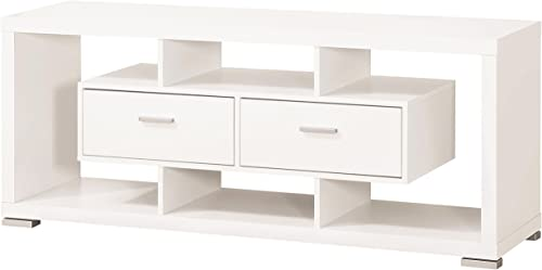 Coaster Home Furnishings 2-drawer TV Console White