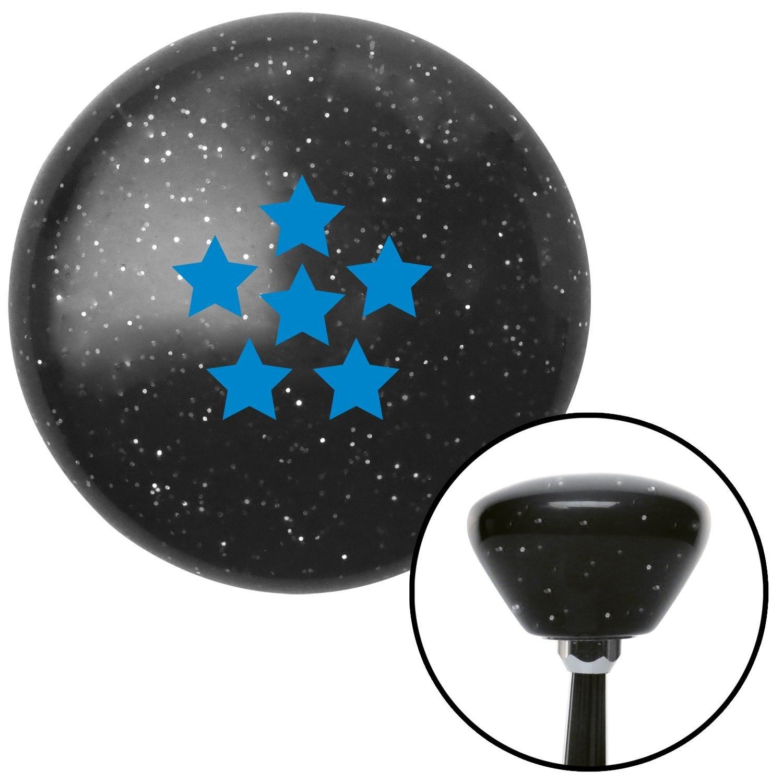 American Shifter 175959 Black Retro Metal Flake Shift Knob with M16 x 1.5 Insert Blue Dragon Ball Z - 6 Star