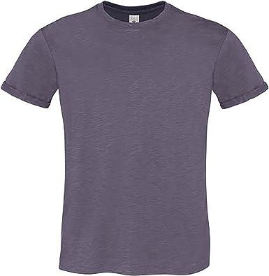 B/&c homme à encolure ras-du-cou à manches courtes Fashion T-Shirt Cold Dye unique haut en jersey neuf