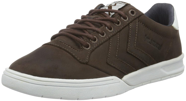 Hummel Hml Stadil Winter Low Sneaker, Zapatillas Unisex Adulto 40 EU|Marrón (Chestnut)