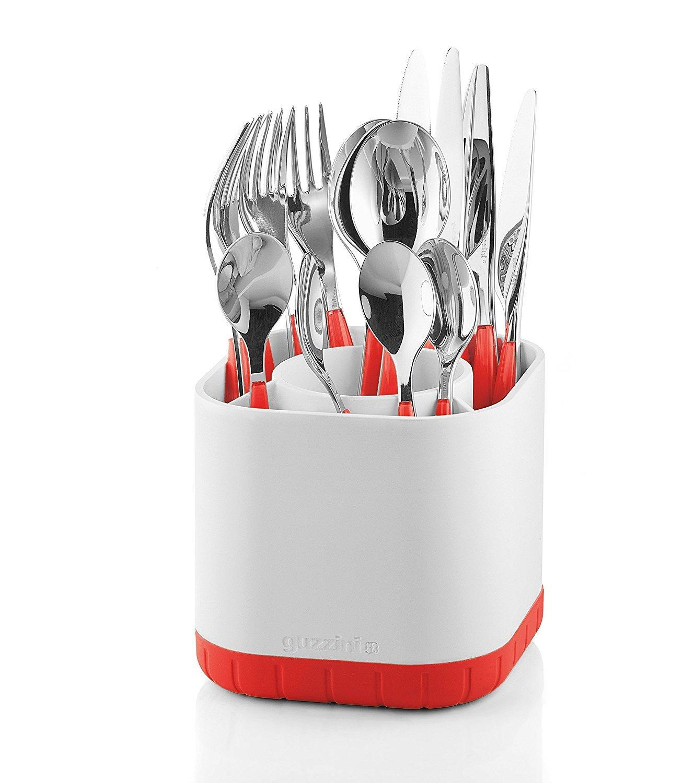 Mesa, Cutlery Drainer, Rojo, Niklas Jacob, My Kitchen Fratelli Guzzini 2901.00 55 Cutlery Drainer Bastidor de Secado y escurrido de Cocina bastidores de Secado y escurrido de Cocina