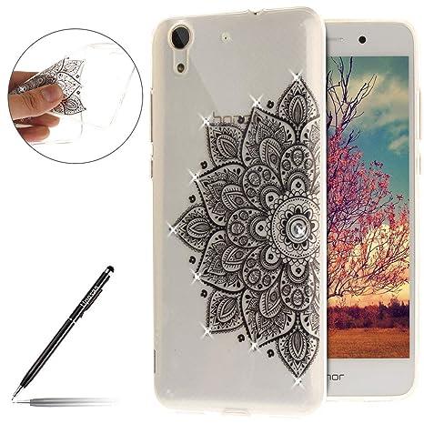 uposao carcasa Huawei Y6 II/Y6 2 Mandala transparente con ...