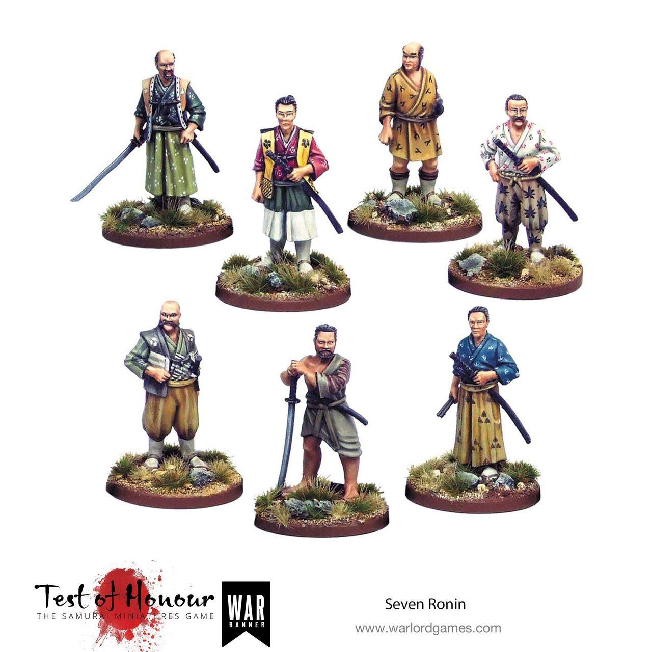 GameCraft Miniatures Test of Honour: Seven Ronin
