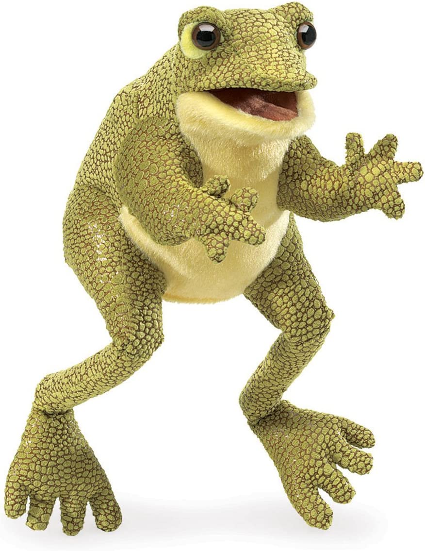 Folkmanis Funny Frog seits Puppet